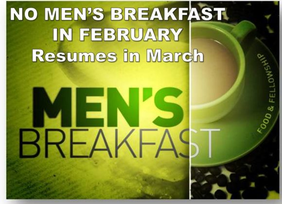 No Men's Breakfast – Feb