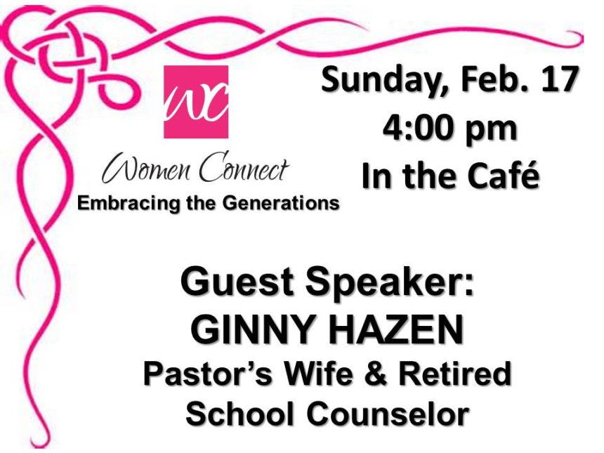 Women Connect – Feb 17th