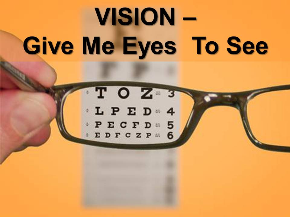 New Life Worship Center | Sermon Podcast 04-14-2019 | Vision-Give Me Eyes To See