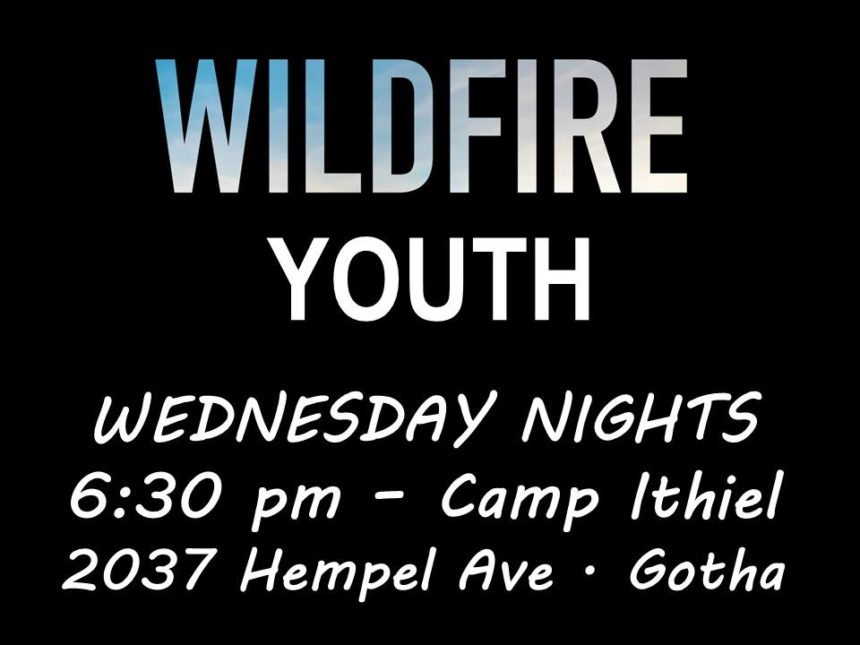 Wildfire Youth -Wed 6:30pm