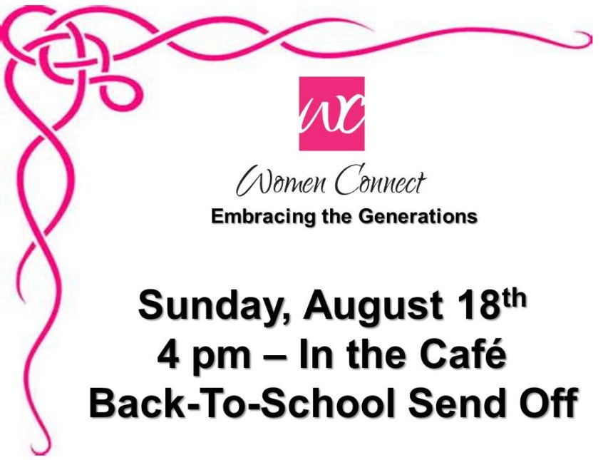 Women Connect Meeting