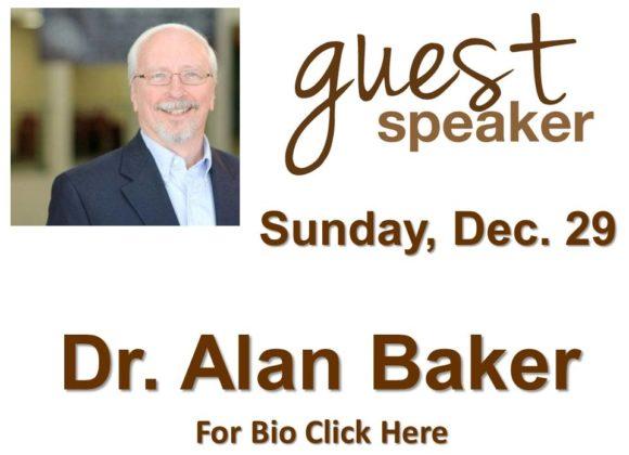 Dr. Alan Baker – Dec 29th