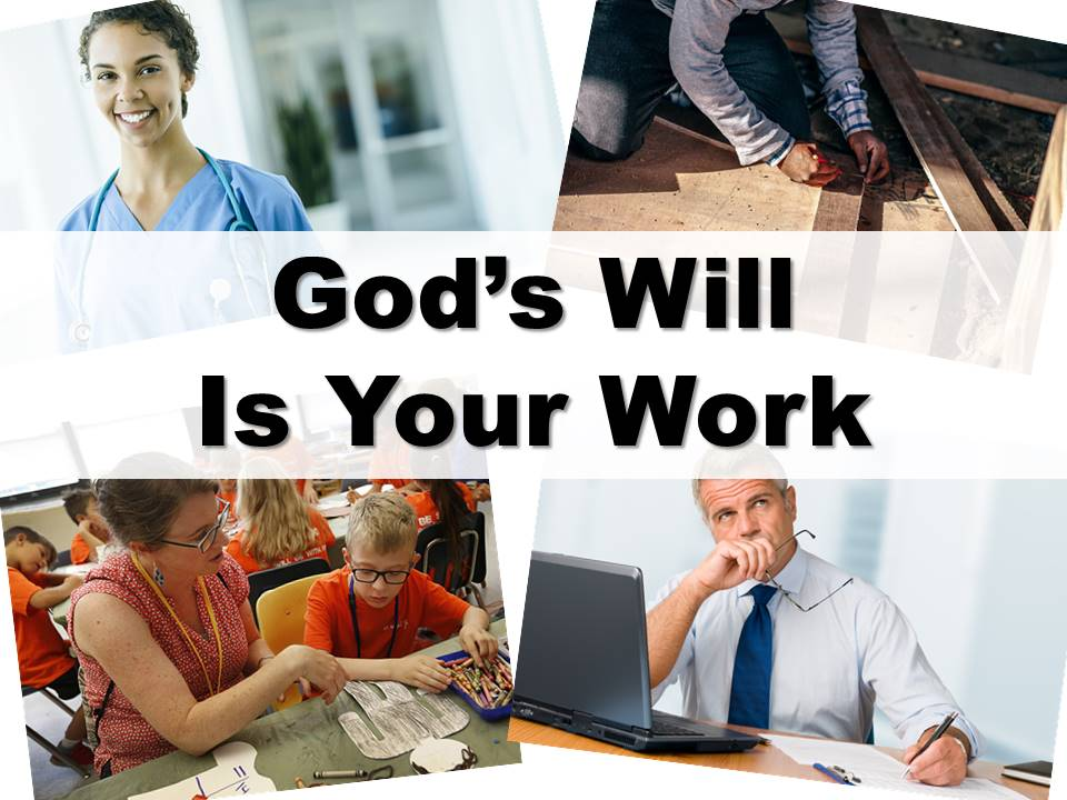 New Life Worship Center | Sermon Podcast 9-1-19 - Gods Will Is Your Work