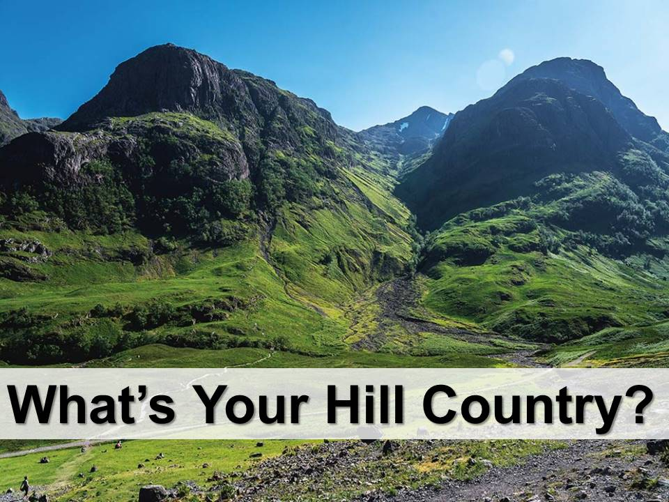 New Life Worship Center | Sermon Podcast 9-8-19 - Your Hill Country