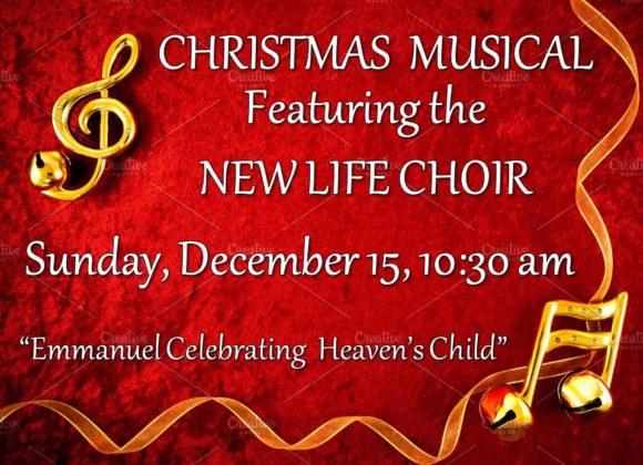 Choir Musical – Dec 15th