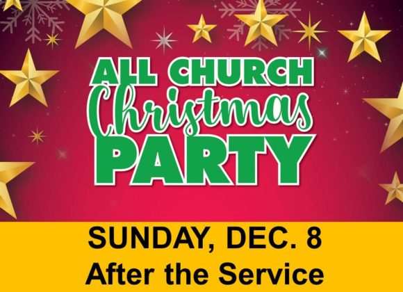 Christmas Party – Dec 8th