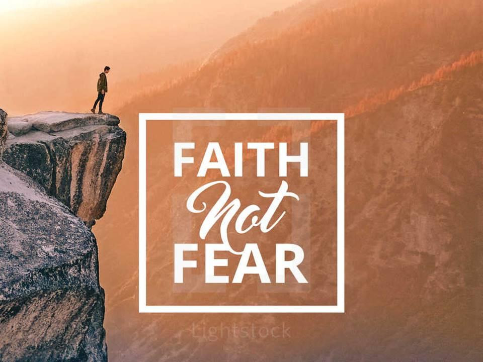New Life Worship Center | Sermon Podcast 11-24-19 Faith Not Fear