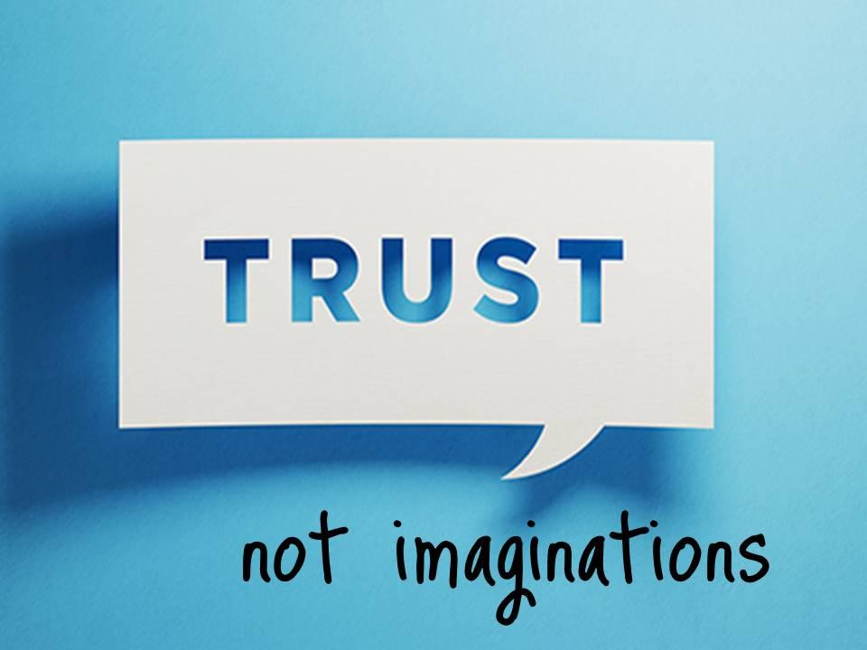 New Life Worship Center | Sermon Podcast 12-08-19 Trust Not Imaginations