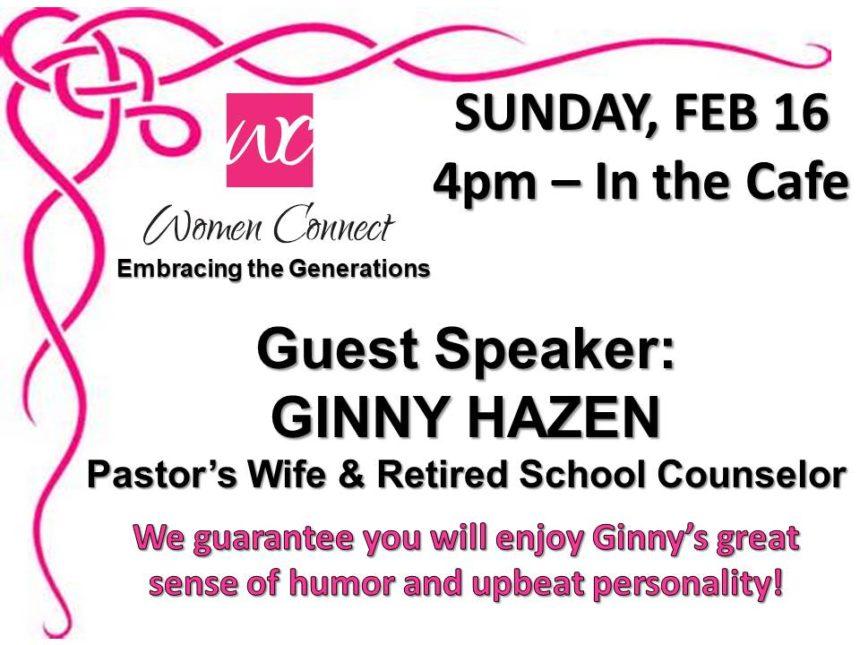 Women Connect – Feb 16th