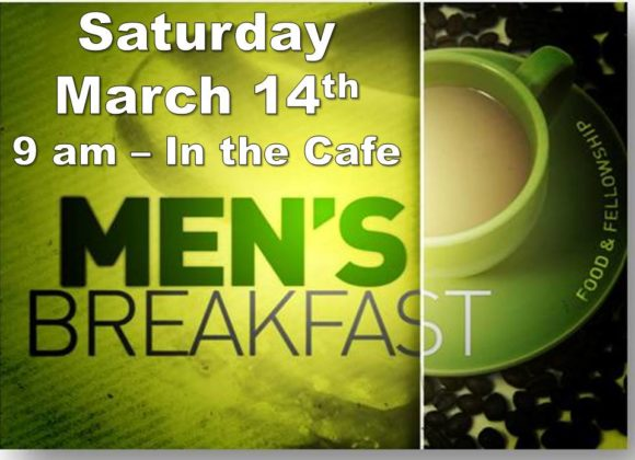 Men's Breakfast – Mar 14th