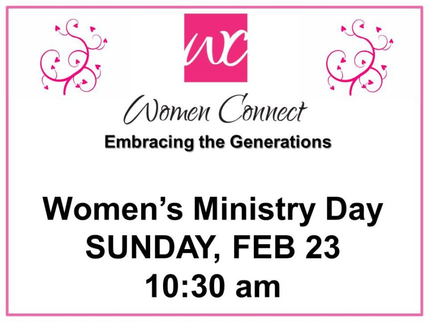 Women's Ministry Day