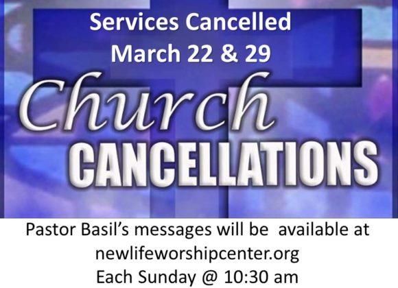 No Church Service
