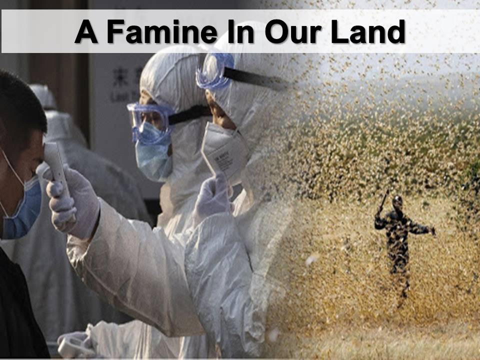 New Life Worship Center | Sermon Podcast 05-24-20 A Famine In Our Land