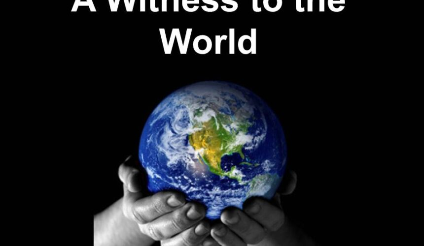 A Witness to the World