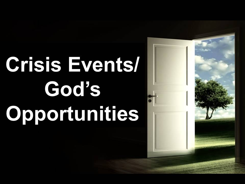 New Life Worship Center | Sermon Podcast 08-30-20 Crisis Events, God's Opportunities